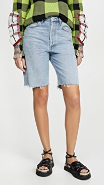 Mid Rise 90's Loose Shorts