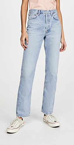AGOLDE - Lana Mid Rise Vintage Straight Jeans