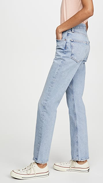 AGOLDE Lana Low Rise Vintage Straight Jeans
