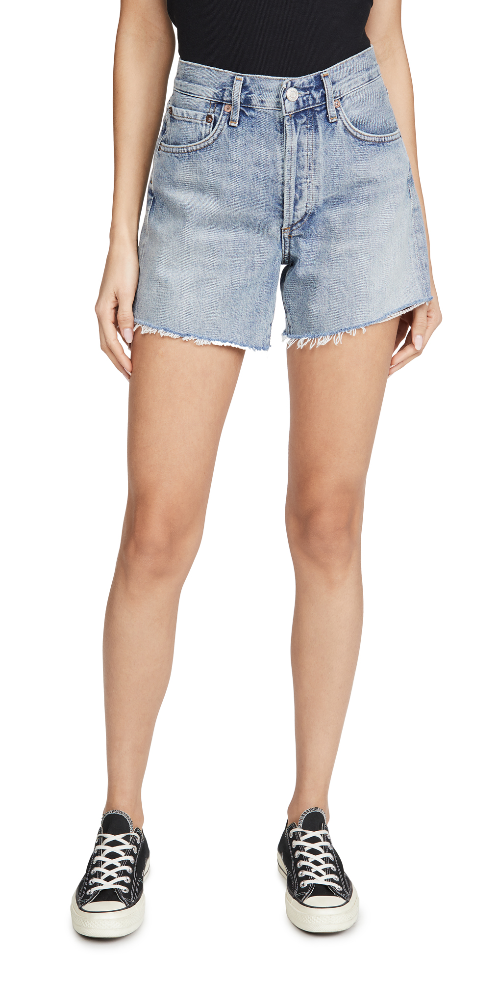 AGOLDE Reese Relaxed Cutoff Shorts