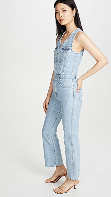 AGOLDE '70s Fitted Jumpsuit