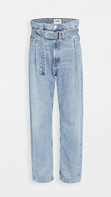 AGOLDE Reworked '90s Paperbag Jeans