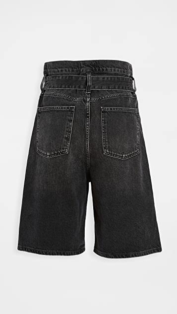 AGOLDE Reworked 90's 纸包短裤
