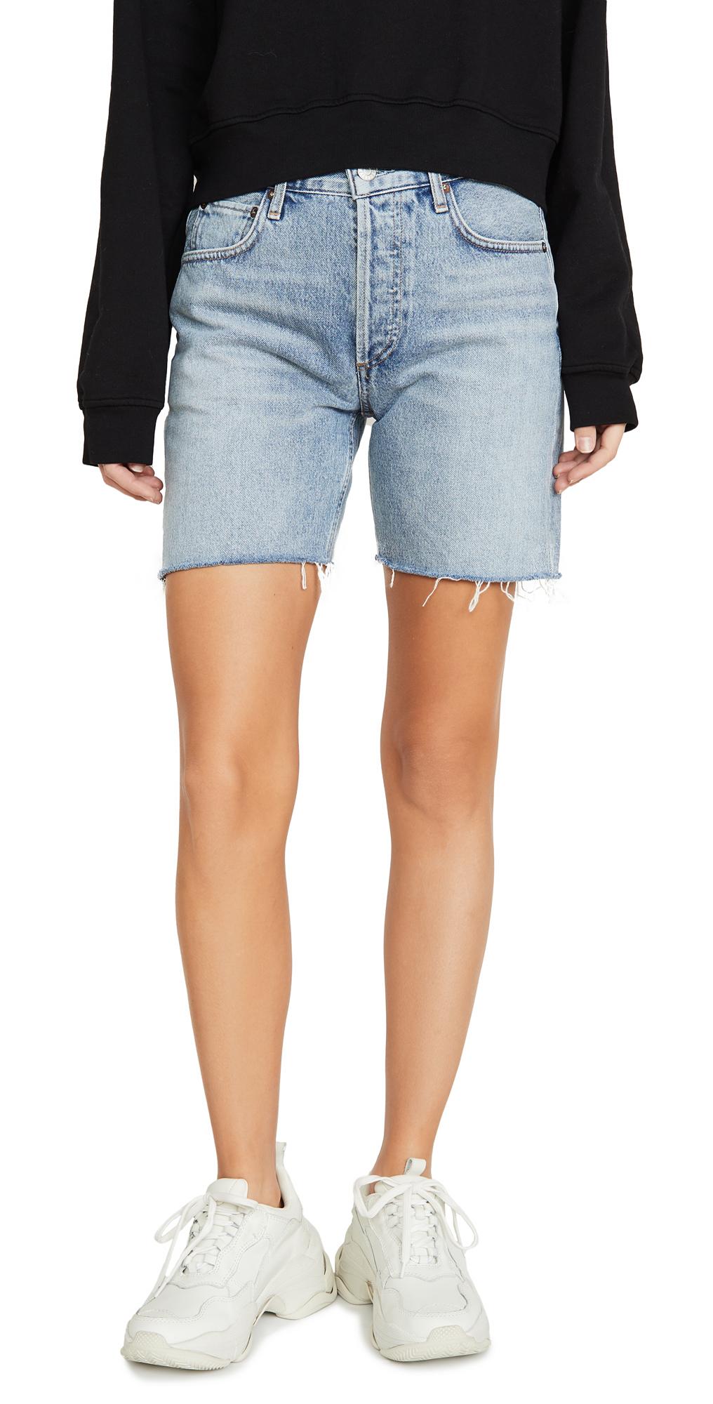 AGOLDE Rumi Mid Length Shorts