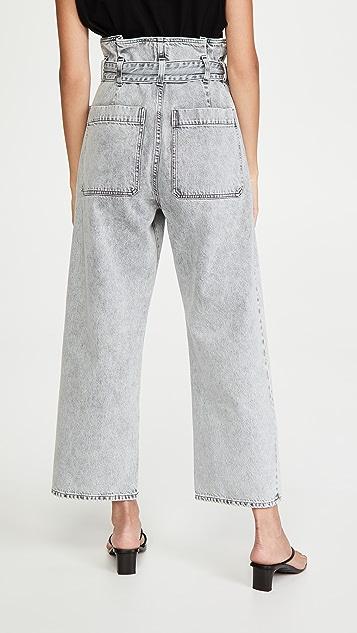 AGOLDE Aden Paperbag Utility Pants