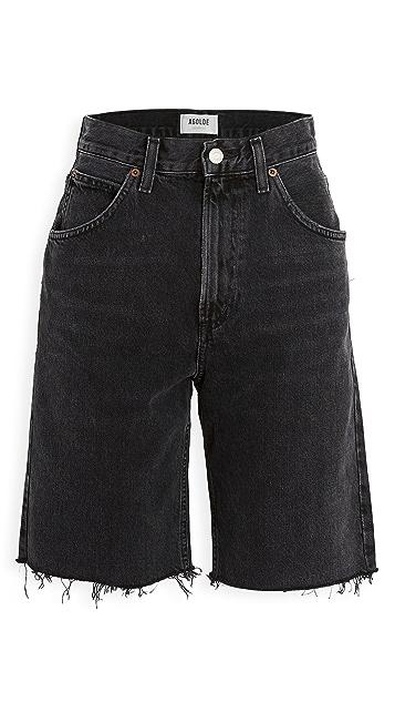 AGOLDE Pinch Waist Shorts