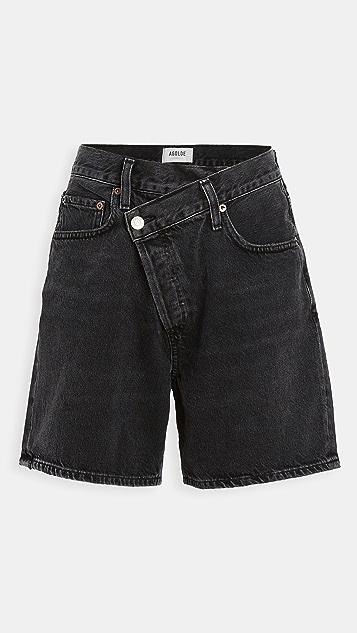 AGOLDE 交叠短裤