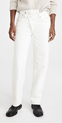 AGOLDE - Crisscross Upsized Jeans