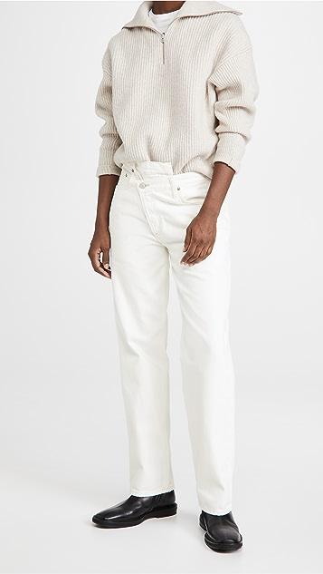 AGOLDE Crisscross Upsized Jeans