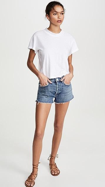 AGOLDE Parker Vintage 超短裤
