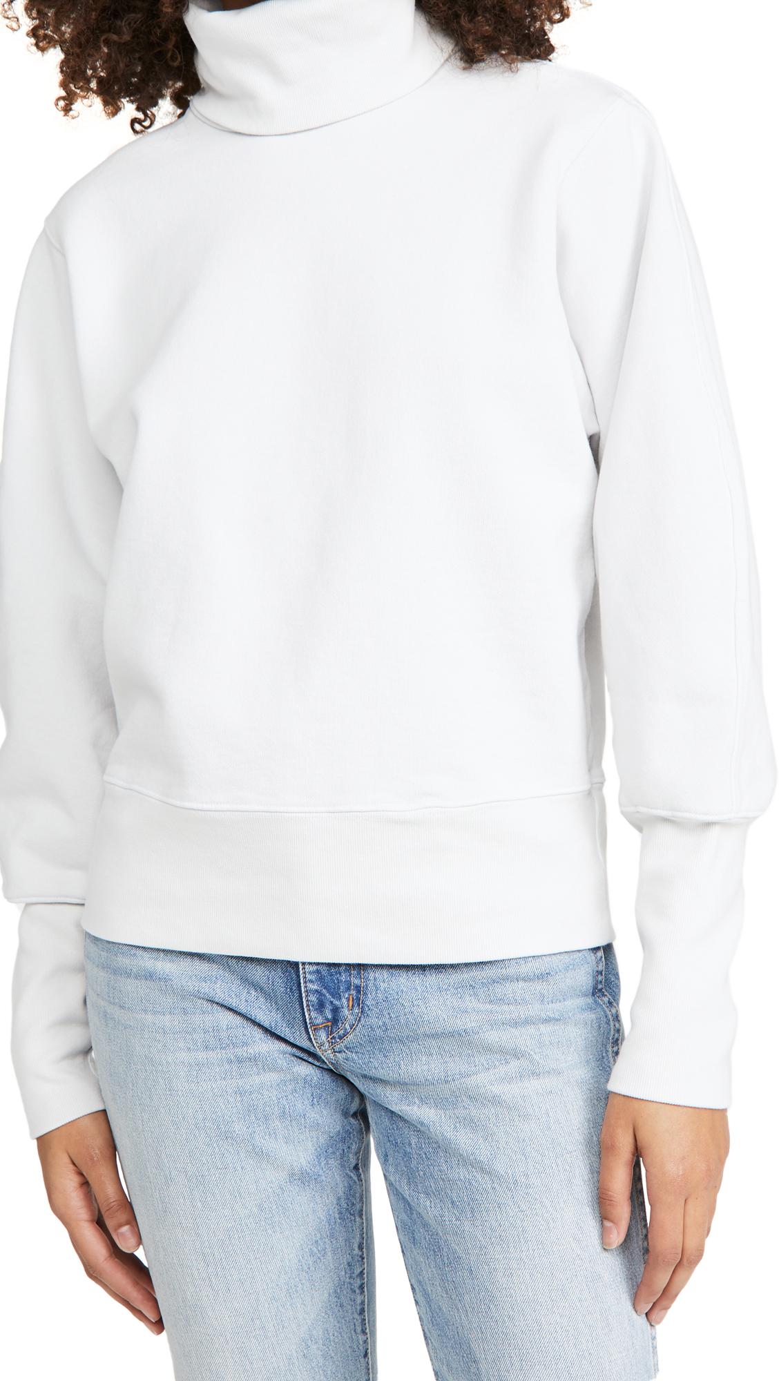 AGOLDE Extended Rib Sweatshirt