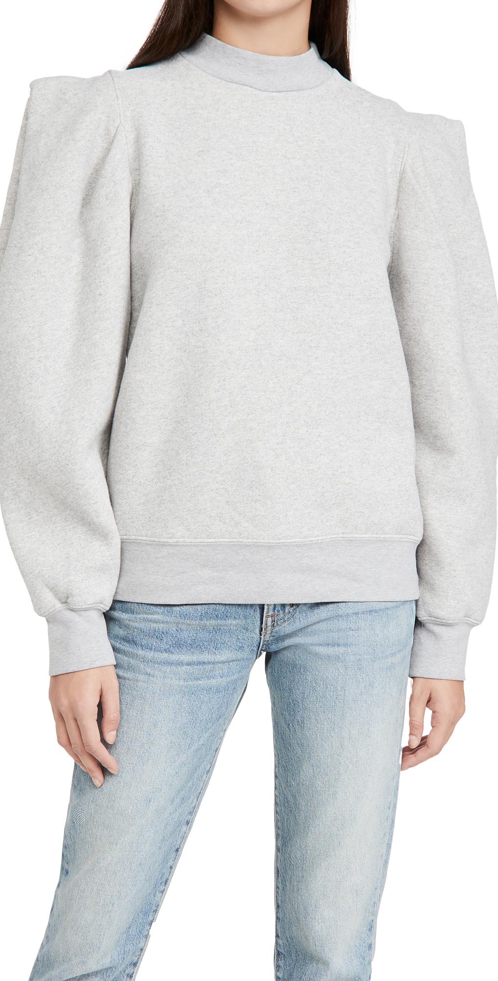 AGOLDE Folded Sleeve Sweatshirt