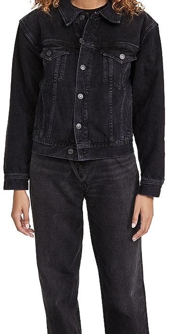 AGOLDE Blanca Elasticated Jacket - Double Exposure