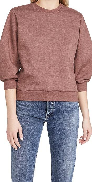 AGOLDE Thora Sweatshirt - Rhubarb Heather