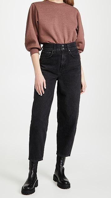 AGOLDE 弹性灯笼牛仔裤