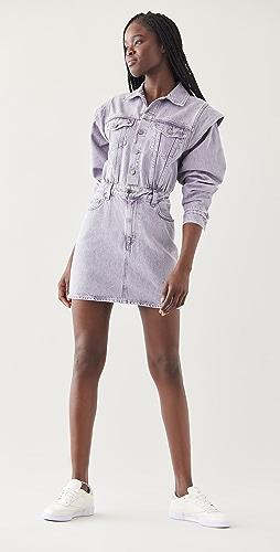 AGOLDE - Reyna Extended Shoulder Dress
