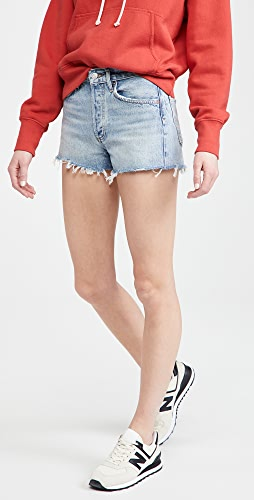 AGOLDE - Parker 复古超短裤