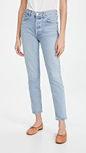 AGOLDE Nico High Rise Slim Fit Jeans