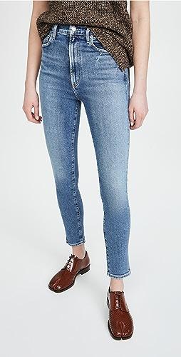 AGOLDE - Pinch Waist Ultra High Rise Skinny Jeans