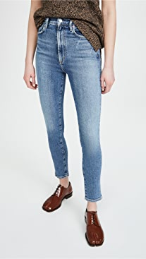 AGOLDE Pinch Waist Ultra High Rise Skinny Jeans