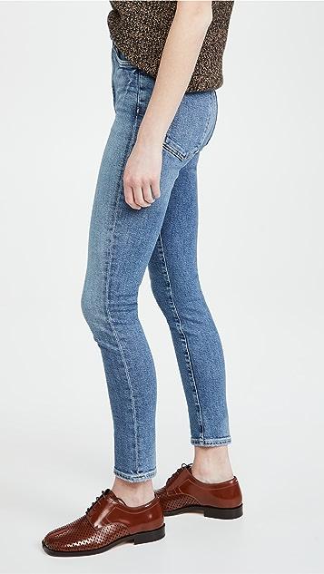 AGOLDE Pinch Waist Ultra High Rise Skinny Jeans