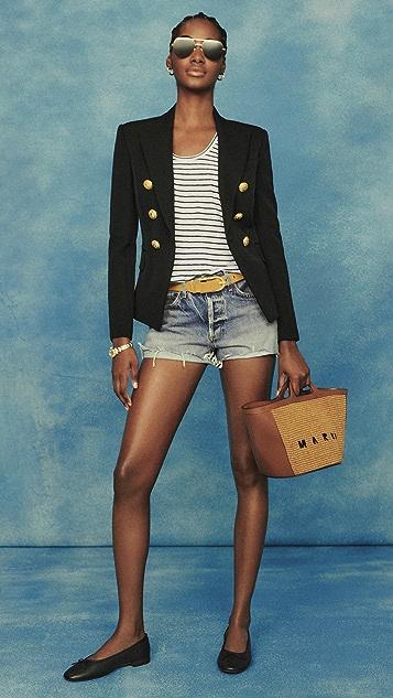 AGOLDE Parker Vintage Cutoff Shorts