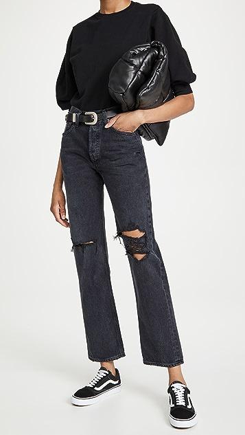 AGOLDE Lana 中腰复古直脚牛仔裤