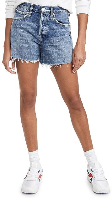 AGOLDE Parker 长款宽松复古短裤
