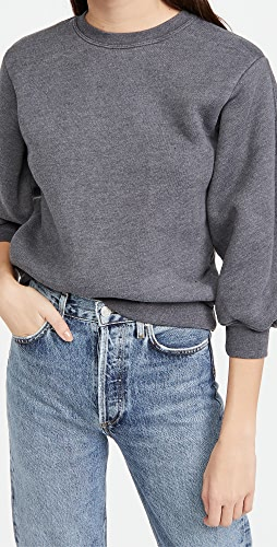 AGOLDE - Thora 3/4 Sleeve Sweatshirt