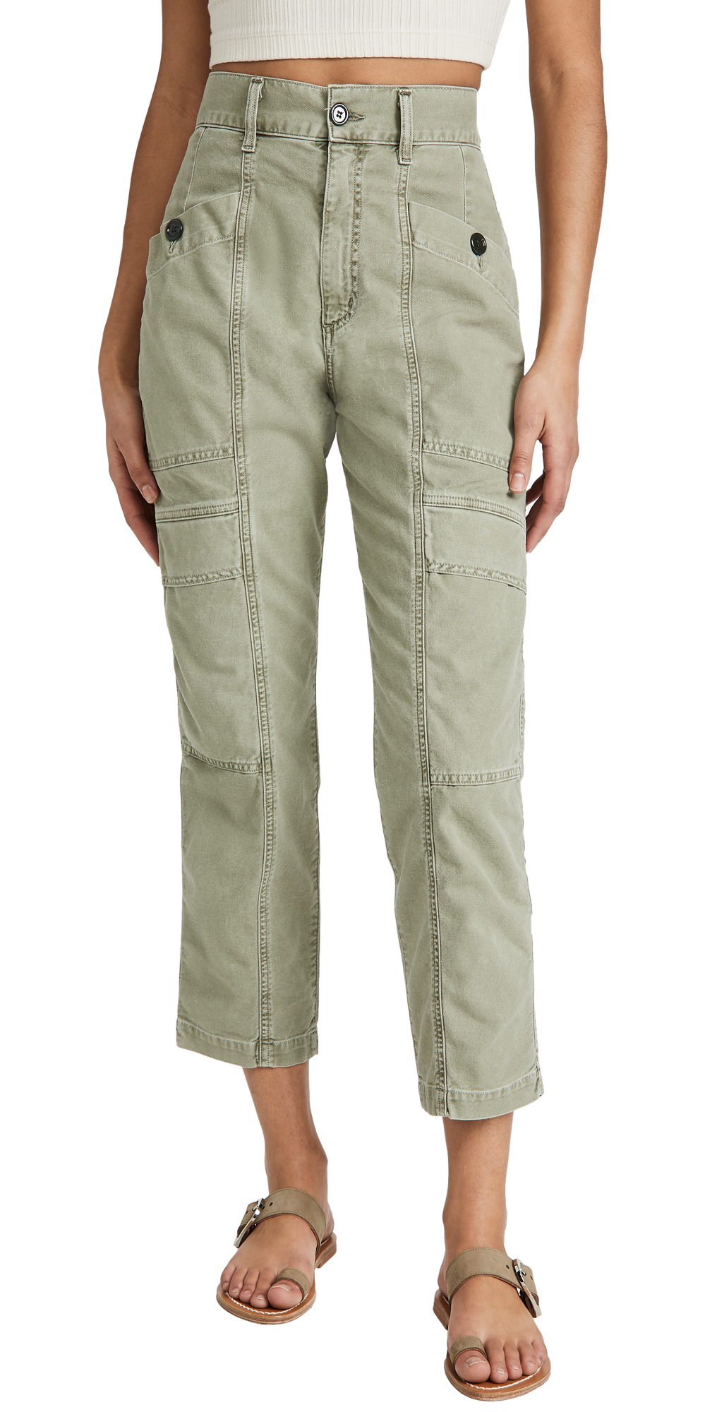 AGOLDE Kai High Rise Cargo Pants