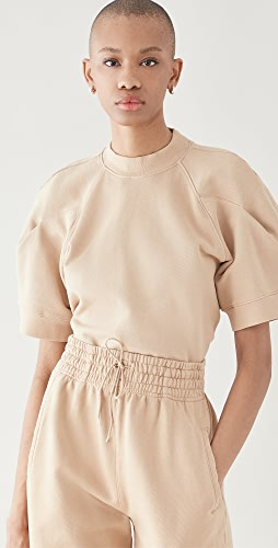 AGOLDE - The Round Shoulder Half Sleeve Box Sweatshirt