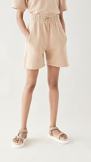 AGOLDE Boxing Fleece Shorts