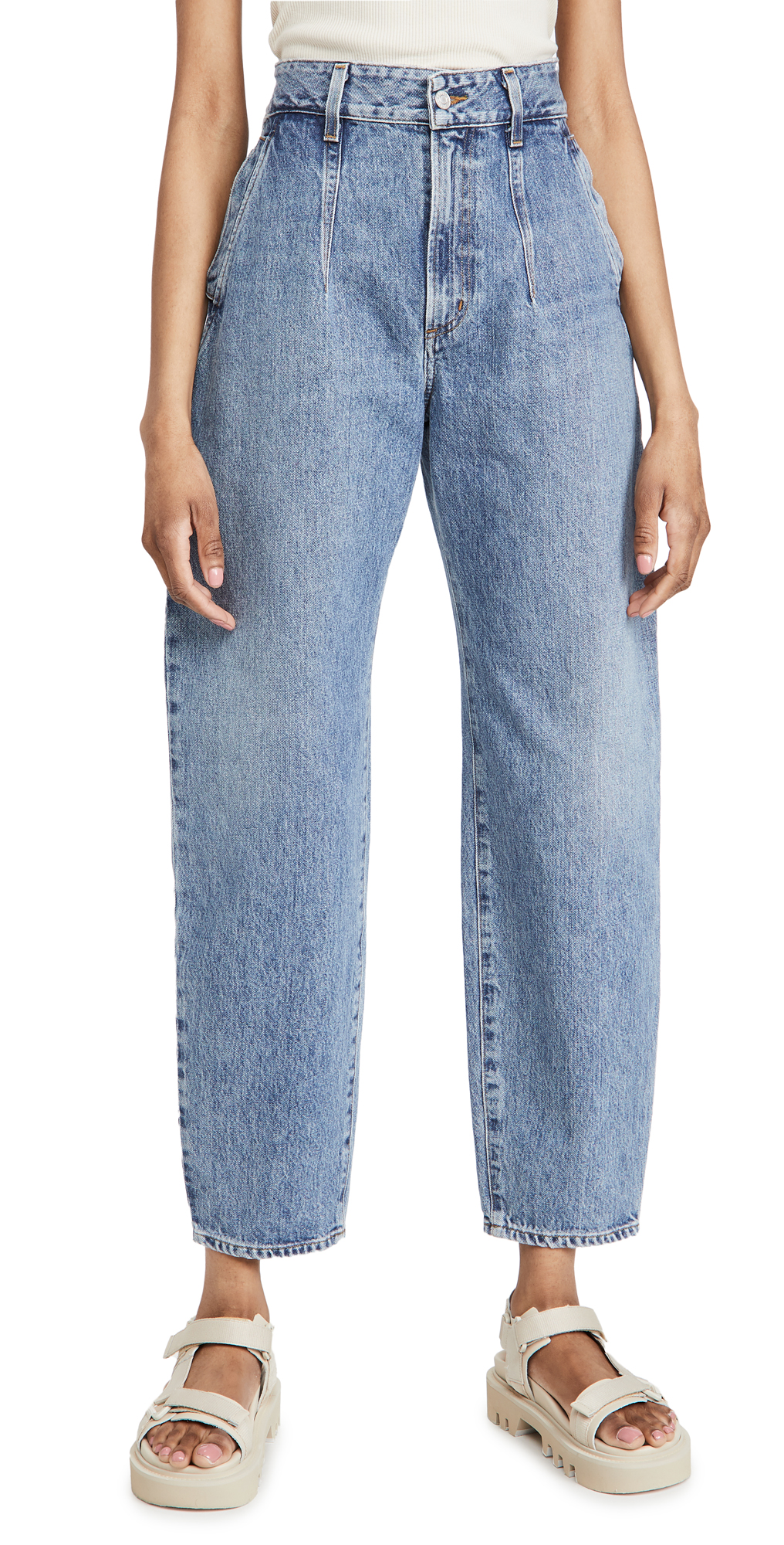 AGOLDE Darted Balloon Baggy Tapered Jeans