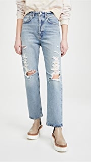 AGOLDE 90 年代风格中腰宽松版牛仔裤