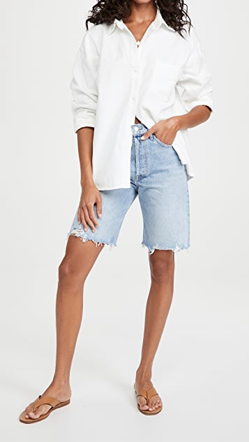 AGOLDE 90'S Short Mid Rise Loose Shorts