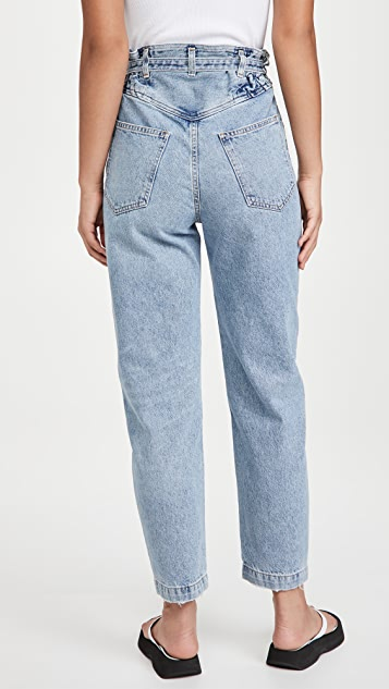 AGOLDE Riya 弹性高腰牛仔裤