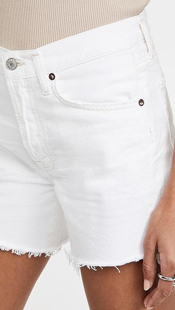 AGOLDE Parker Long Loose Shorts