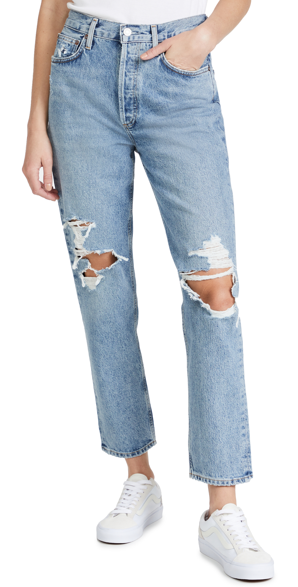 AGOLDE Fen High Rise Relaxed Taper Jeans