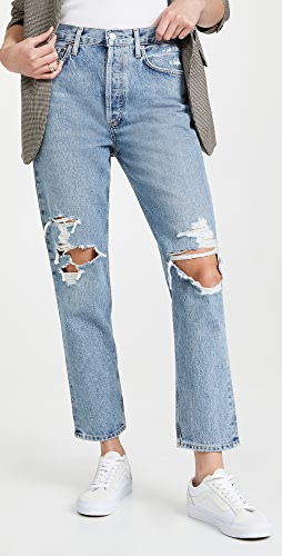 AGOLDE - Fen High Rise Relaxed Taper Jeans