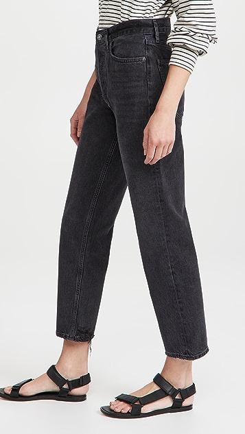 AGOLDE Lana 中长牛仔裤