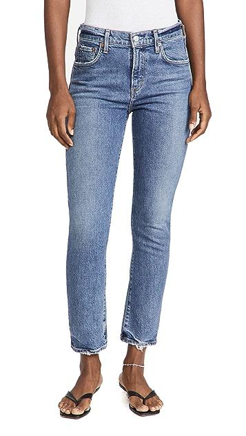 AGOLDE Toni Mid Rise Jeans