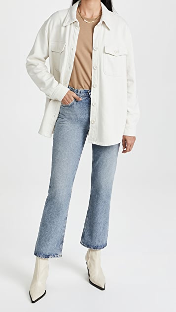 AGOLDE Mid-Rise Relaxed Boot Cut Jeans