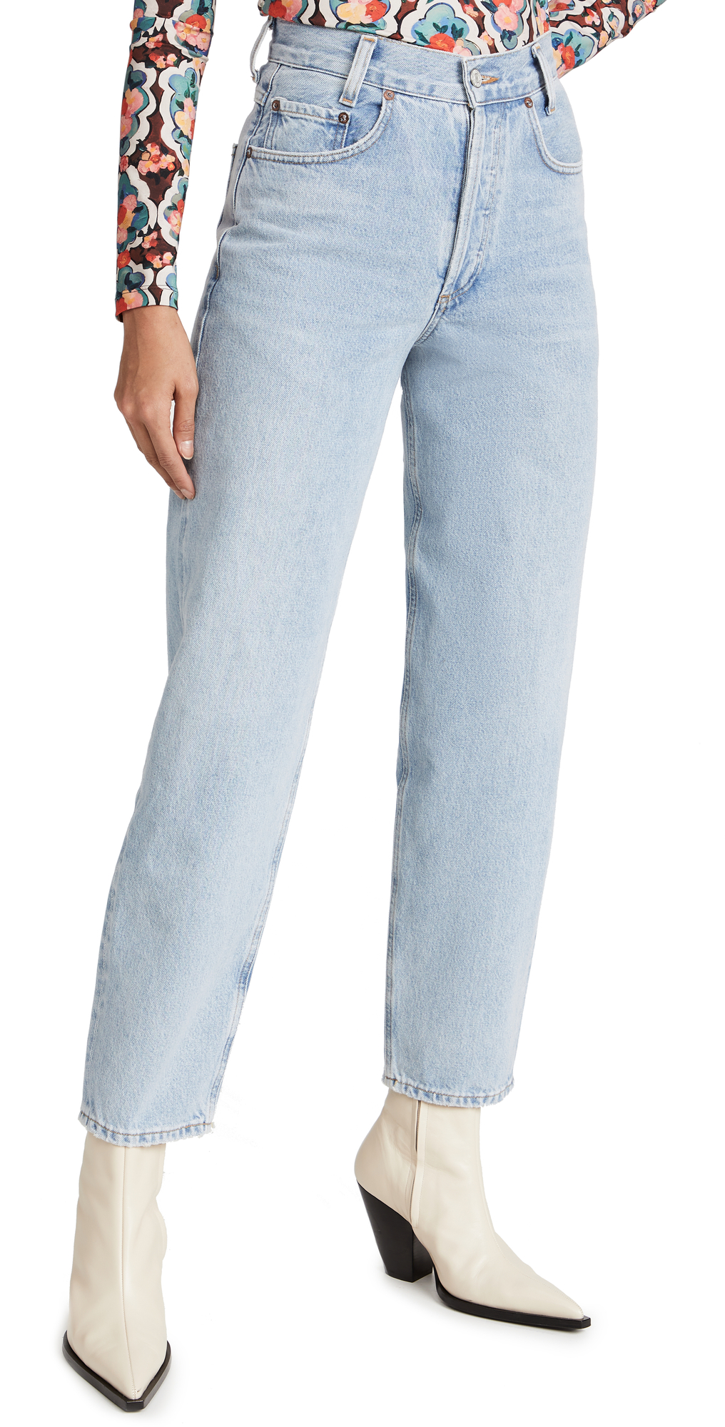AGOLDE Tapered Baggy High Rise Jeans