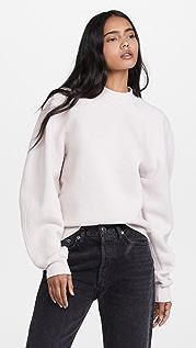 AGOLDE Tarron Mock Neck Sweatshirt
