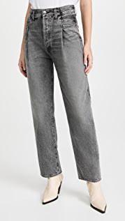 AGOLDE High Rise Tapered Jeans