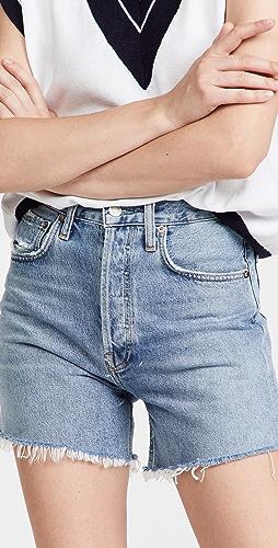 AGOLDE - Riley 高腰短裤