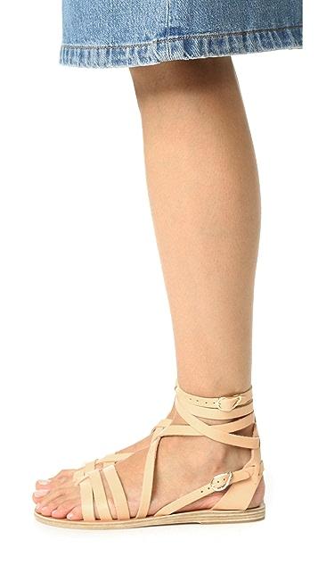 Ancient Greek Sandals Satira Wrap Sandals