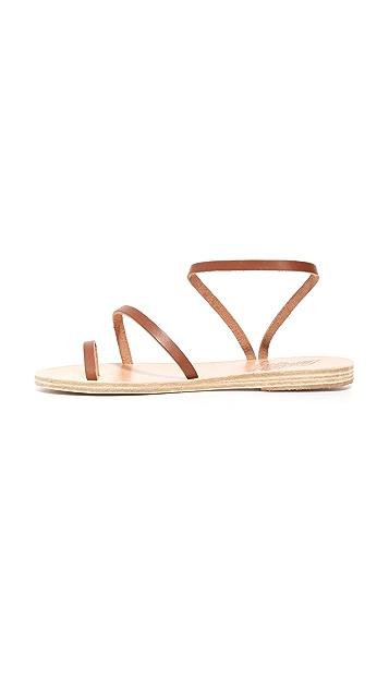 Ancient Greek Sandals Сандалии Alpli Eleftheria