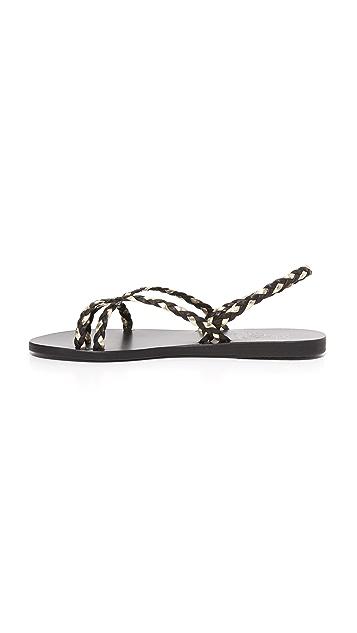 Ancient Greek Sandals Сандалии Yianna