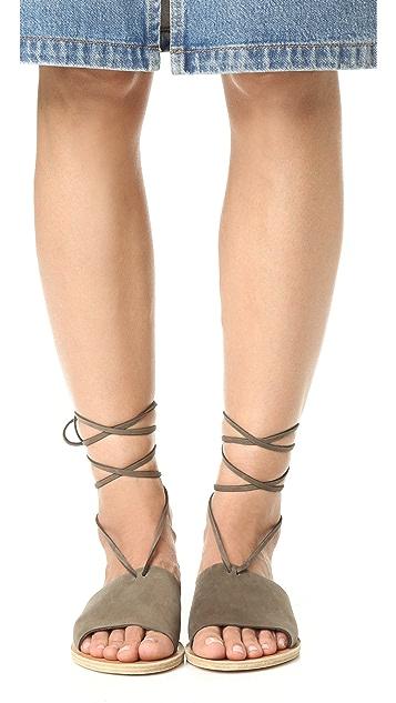 Ancient Greek Sandals Christina Wrap Sandals